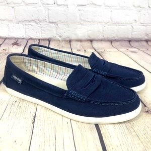 Cole Haan Pinch Maine Classic Canvas Penny Loafers